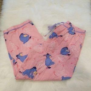 Disney Pink Eeyore Pajama Pants